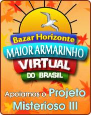 Bazar Horizonte, patrocinador do Projeto Misterioso III